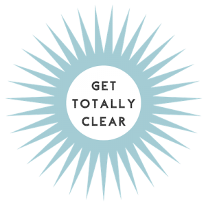 get totally clear logo