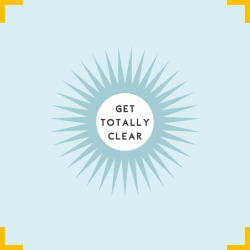 get totally clear graphic
